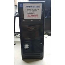 Computador DualCore E5700 4Gb HD 750Gb