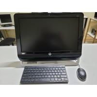All in One HP AMD DualCore, 4Gb, SSD 120Gb