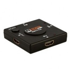 Hub Switch HDMI 4 Portas 1080P (3-IN/1-OUT)