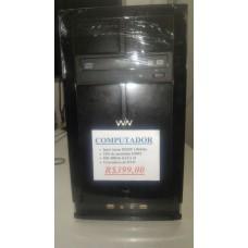 Computador Atom 1.86Ghz, 2Gb, HD 400Gb
