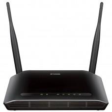 Modem Roteador Adsl2 Dlink Dsl-2740e Wifi 300mbps 2 Antenas